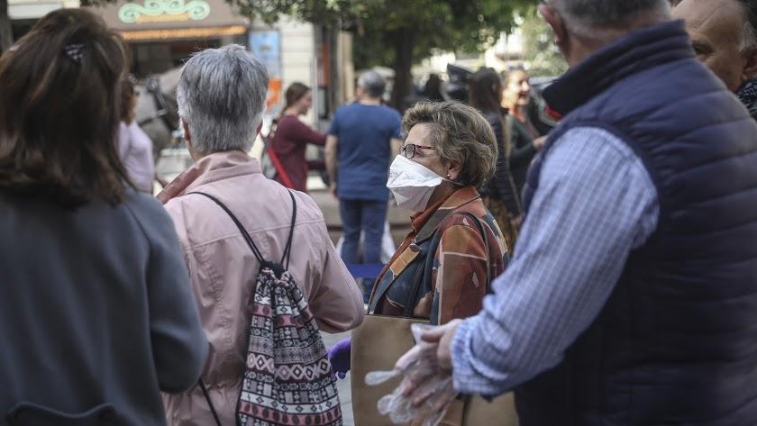 Los casos de coronavirus en Almería son 14 por el momento.