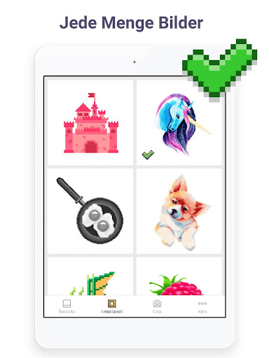 pixel art malen nach zahlen app report on mobile action. Black Bedroom Furniture Sets. Home Design Ideas