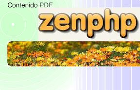 Captura del generador de PDF
