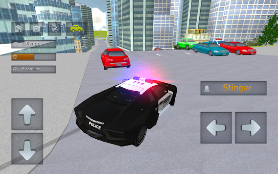 Police Chase - The Cop Car Driver APK screenshot thumbnail 2