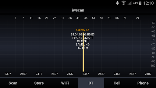 iwscan. WiFi Analyzer app (apk) free download for Android/PC/Windows screenshot