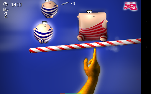 Batonic: A Game of Balance Screenshot