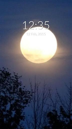 Full Moon Wall Lock
