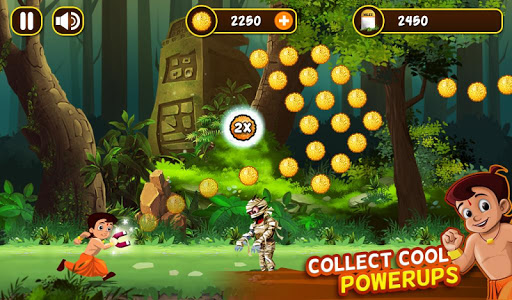 Chhota Bheem Jungle Run  captures d'écran 4
