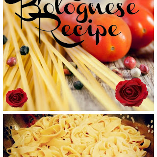 Bolognese Sauce.