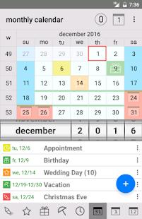 Endless Calendar - náhled