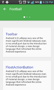 Custom Toolbar animation screenshot 0