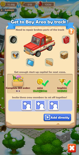 Farm and travel - Idle Tycoon - screenshot