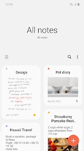 Samsung Notes Screenshot