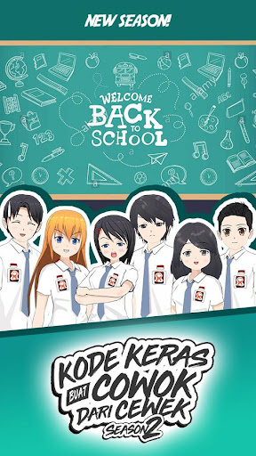 Kode Keras Cowok 2 - Back to School 2.70 screenshots 1
