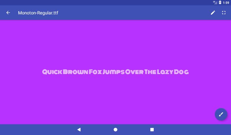 Font Viewer Plus Screenshot 13