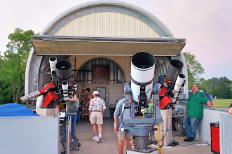 Photo: The Onan Observatory houses more than a dozen telescopes on four observing platforms.