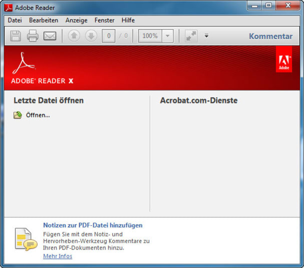 pdf viewer free download adobe