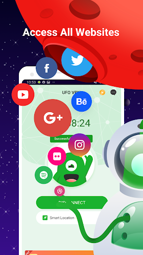 UFO VPN Basic screenshot 2