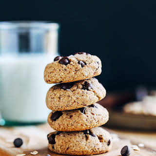 Almond Meal Chocolate Chip Cookies.