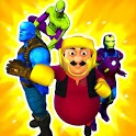 Cartoon Fighting Game 3D : Superheroes icon