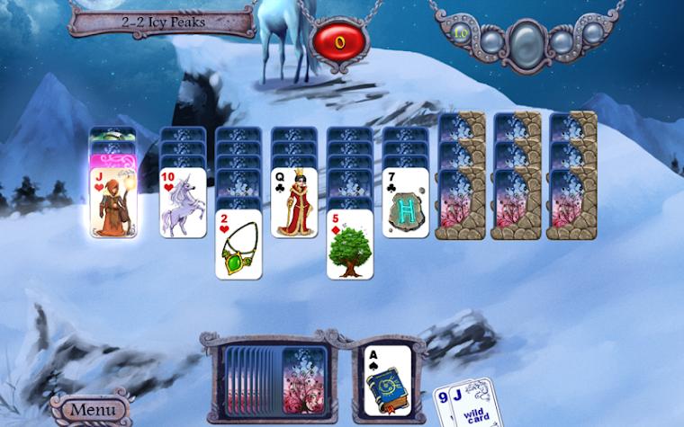 Avalon Legends Solitaire Screenshot