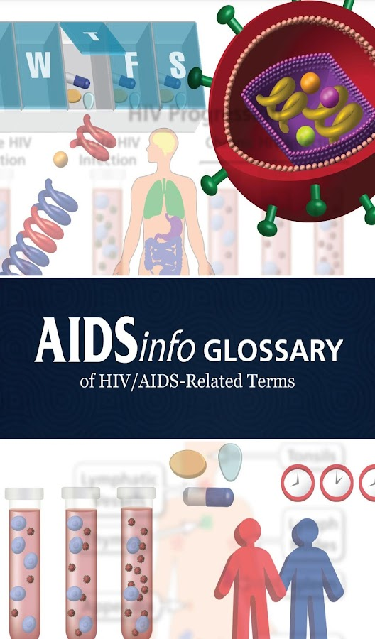 AIDSinfo HIV/AIDS Glossary- screenshot