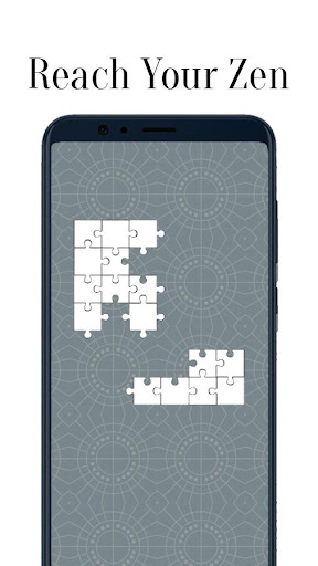 Zen Jigsaw - White Jigsaw Puzzle android2mod screenshots 4