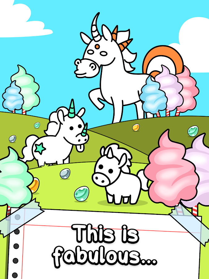 Unicorn Evolution - Fairy Tale Horse Game- screenshot