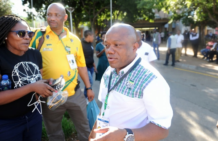 African National Congress (ANC) chairman Sihle Zikalala during the 54th National Conference at the Nasrec Expo Centre on December 15, 2017 in Johannesburg, South Africa.