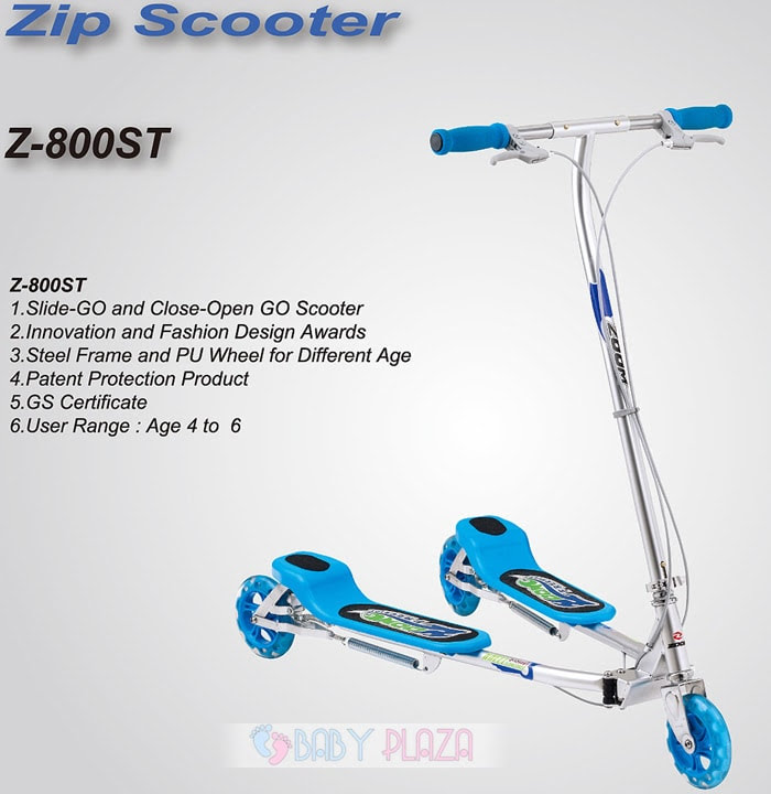 Xe trượt Zip Scooter 2 bàn đứng 1