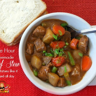 Easy Homemade Beef Stew In One Hour