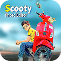 Scooty Photo Editor - Scooter Photo Frame icon