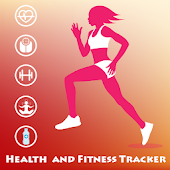 Health & Fitness Tracker : Workout & Diet Tips icon