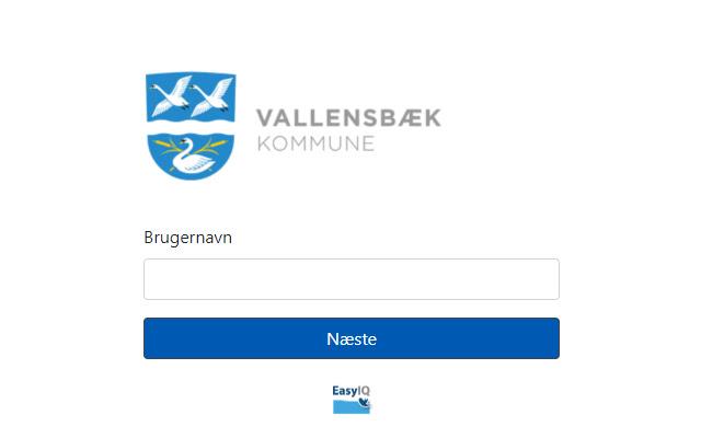 EasyIQ IdP – Vallensbæk Kommune