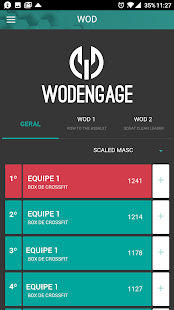 WODEngage- screenshot thumbnail