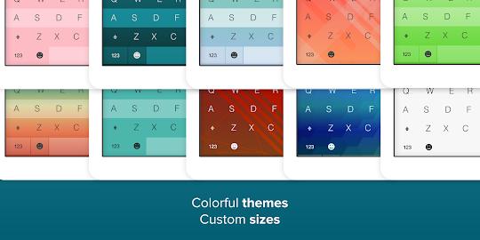 Fleksy + GIF Keyboard Screenshot 1