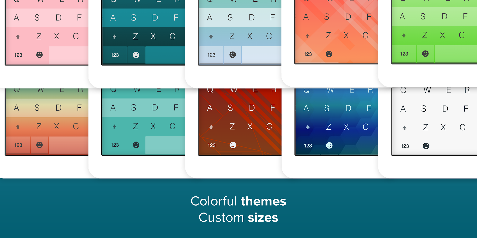 Fleksy + GIF Keyboard screenshot #9