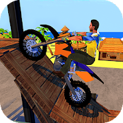 Racing Bike Stunts & Ramp Riding