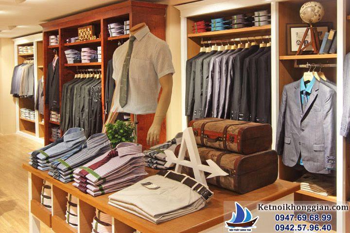 thiết kế shop thời trang đẳng cấp tại đường 25/4