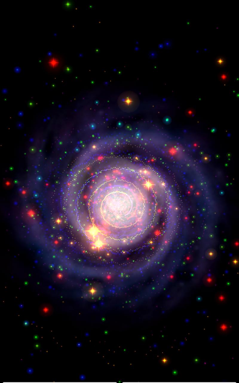 Galaxy Journey Music Visualizer Pro Screenshot 5