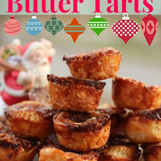 Butter Up Santa with Caramelized Butter Tarts