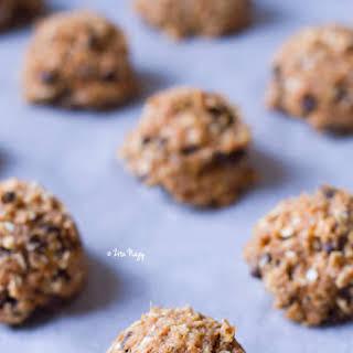 Vegan Pumpkin Chocolate Chip Cookies.