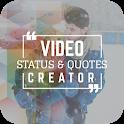 Video Status & Quotes Creator : Video Status 2019 icon