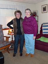 Photo: Mom and her first cousin, Margie Smith