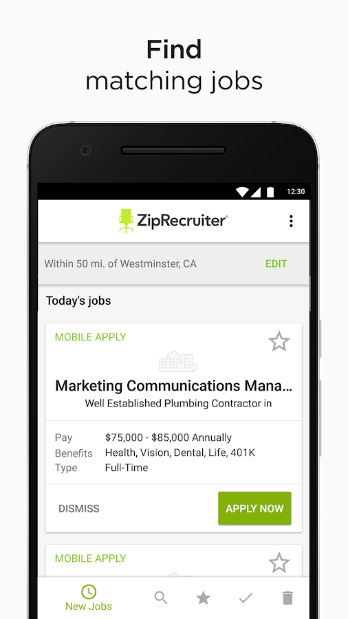 Job Search by ZipRecruiter- screenshot