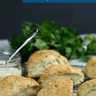 Pecorino, Garlic & Herb Scones.