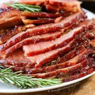 Crock Pot Ham.
