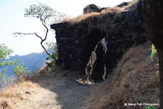 Photo: Fortification on Rajgad