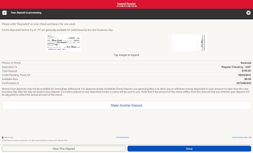 Bank of America- screenshot thumbnail