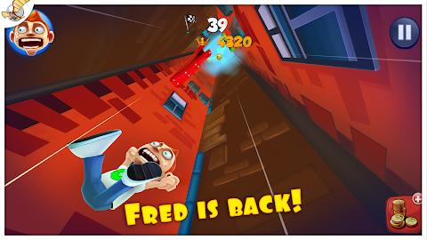Super Falling Fred Screenshot 1