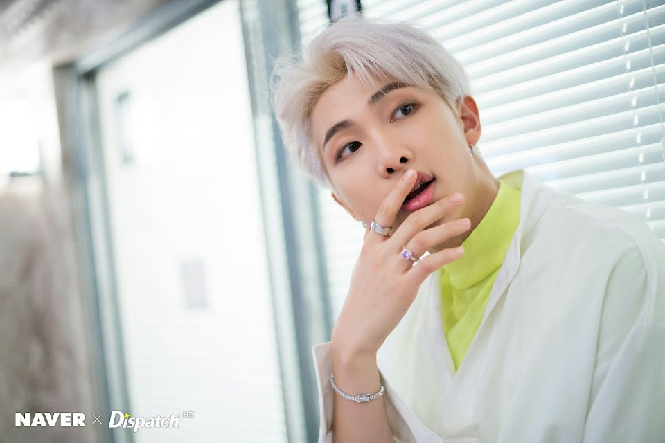 bts rm boy with luv