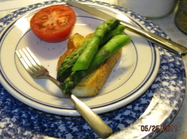 Asparagus On Toast Recipe