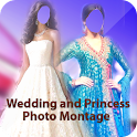 Wedding Princess Photo Montage icon