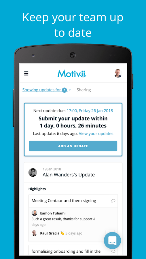 Motivii - Turbocharged Productivity- screenshot